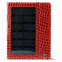 Buy cheap Solar Leather Case for iPad 2, with Battery Capacity of 4000mAh from wholesalers