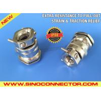 Buy cheap Nickel-plated Brass Cable Gland with Strain Relief Clamp & Traction Relief Clamp from wholesalers