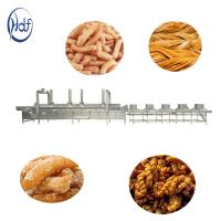 Buy cheap Electric Gas Puffed Automatic Food Processing Machines Automatic Chips Frying Machine from wholesalers