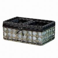 Buy cheap Gourmet Gift Basket, Handmade, Corn Rope, Eco-friendly, Various Colors and Styles are Available from wholesalers