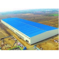 Buy cheap Light Weight Glass Wool Insulated Prefab Steel Structure Workshop from wholesalers
