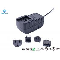 Buy cheap 18W Interchangeable Plug Power Adapter 12V 1.5A Switching AC/DC Adapters product