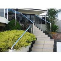 Buy cheap Building Stainless Steel Balustrade , Stainless Steel Fence With Aluminum Alloy Materials from wholesalers