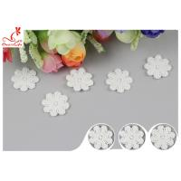 Buy cheap Original Cotton Small Flower Lace Collar Applique With DTM Dyeing from wholesalers