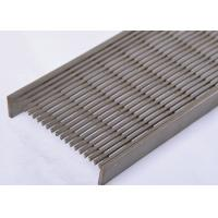 Buy cheap Professional V- Shaped Wedge Wire screen Panel For Long Linear Floor Drain from wholesalers