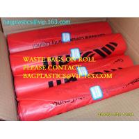 China Roll bags with serial number, Polythene bags serial numbered, Serialized Numbers & Barcode, Safe bags, security bags pac on sale