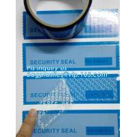 Buy cheap Tamper evident holographic label / Security Hologram VOID sticker,Antifake Logo Printing Peel Off Void Sticker, Warranty from wholesalers