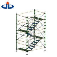 Buy cheap Layher Ringlock Scaffolding System Cantilever Stair Tower Scaffolding from wholesalers