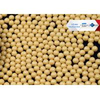 Buy cheap 80 Cerium Stabilized Ceramic Grinding Media Balls , High Shear Sand Mill Grinding Media from wholesalers