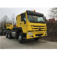 Buy cheap ZZ4257N3241W 6x4 371hp Tractor Trailer Truck Optional Color With ZF8118 Steering from wholesalers