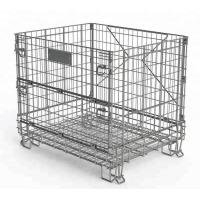 Buy cheap Wine Industry Heavy Duty Wire Mesh Baskets Customized Size And Color from wholesalers