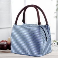Buy cheap Reusable Stripe Aluminum Foil Lining Waterproof Insulated Bag from wholesalers