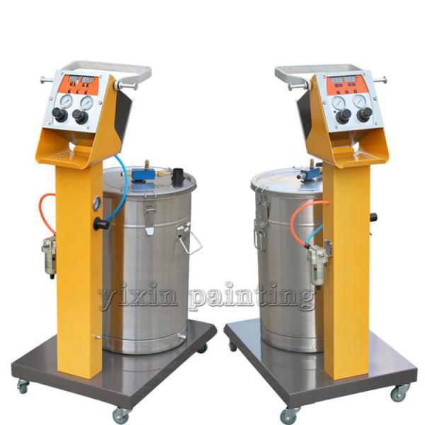 Quality Durable Powder Coating Spray Machine With Pressure Regulator Valve for sale