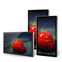 Buy cheap Ultra Light Wall Mounted Digital Signage Big Size High Color Uniformity from wholesalers