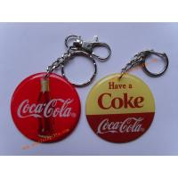 Buy cheap Personalized keychains printed custom logo with double dripping from wholesalers