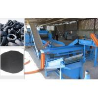 Wholesale Rubber Crumb Waste Tire Recycling Plant Equipment Double Shaft Shredders from china suppliers