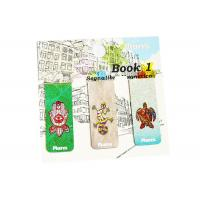 Buy cheap Durable Personalized Magnetic Bookmarks , Custom Magnetic Clips Signs Waterproof from wholesalers