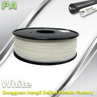Wholesale High Strength 3D Printing Nylon Filament 1.75 / 3.0mm Withe no bubble from china suppliers