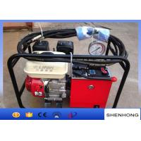 Buy cheap High Efficiency Overhead Line Construction Tools Two Stage Hydraulic Pump from wholesalers