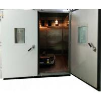 16.8CBM 3375L Temperature Humidity Test Chamber For Plastic Glue 110C Large Display