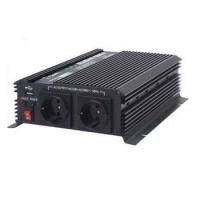 China Slim and high efficiency Power Inverter 1200W with USB DC 12V / AC 110V on sale