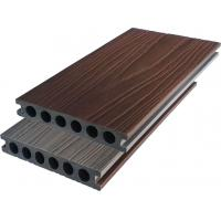 Buy cheap 140X23 bio-co extrusion wpc capped deck with aluminum surface UV resistance from wholesalers