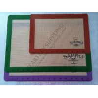 Buy cheap Transparent Silicone Mat with Logo Custom Printing for Oven Cake Baking from wholesalers