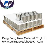 Buy cheap 2-12mm white/blue/grey/red color factory polypropylene corrugated plastic pad for packing industry from wholesalers