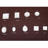 Buy cheap AR0018 White Personalized Clothes Decorative Acrylic beads Flat Back Gems from wholesalers