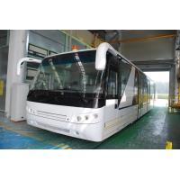 Wholesale Aluminium Body 24 Seat Airport Shuttle Buses , 4 Stroke Diesel Engine Bus from china suppliers