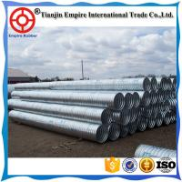 Buy cheap Factory price big size stainless steel corrugated drainage Metal conduit for bridge to deliver water from wholesalers