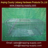Buy cheap Live Catch Animal Trap Cage For Rats, Squirrels, Raccoon, Possum,Coycote,Fox,Dog from wholesalers