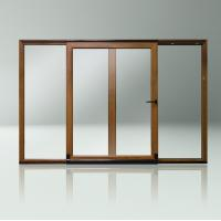 Buy cheap Customized high quality aluminum sliding internal glass door from wholesalers
