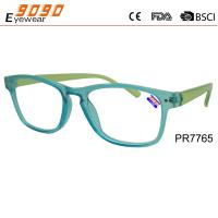 Buy cheap Hot sale style colorful reading glasses with plastic frame, plastic hinge,suitable for women from wholesalers