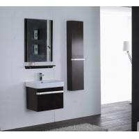Buy cheap Rectangle Type Hanging Bathroom vanity mirrored dark brown Color ISO2000 standard from wholesalers
