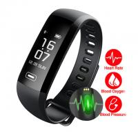 Buy cheap 2017 Newest M2 Blood Pressure Wrist Watch 0.86 inch Pulse Meter Monitor Cardiaco for Smart Band fitness Tracker activity from wholesalers