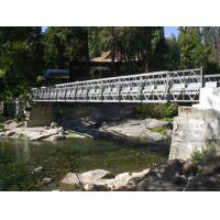 Portable Bailey Bridge Heavy Load Capacity , Strong Structure Rigidity Manufactures