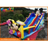Wholesale Pvc Mickey Mouse Commercial Inflatable Bounce House With Slide Easy To Carry from china suppliers