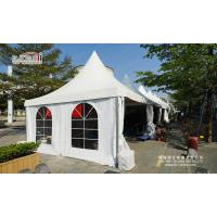 Quality 5x5m high peak pagoda canopy tent for sale for sale