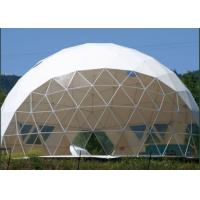 Buy cheap Transparent Garden Geodesic Dome Tent Luxury Hotel Tent Wind Resistance 100km/H from wholesalers