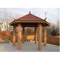 Buy cheap WPC Construction Pergola , Waterproof And Weather-resistant WPC Material from wholesalers