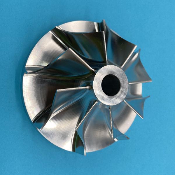 Buy cheap 5 aixs CNC Machining Custom Aluminum Machining Blue Anodizing  CNC Parts from wholesalers