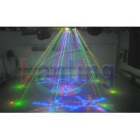 Buy cheap LEN880RG Sound Active 9pcs 54W RGBYW LED Disco Laser Light from wholesalers