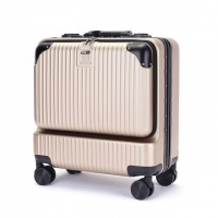 Wholesale CE Metallic Gold 210D Lining Business Cabin Luggage from china suppliers