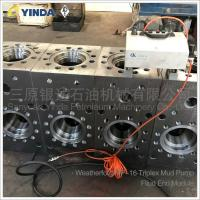 Wholesale Triplex Mud Pump Fluid End Module 1134282 Weatherford MP-16 Forged Alloy Steel from china suppliers