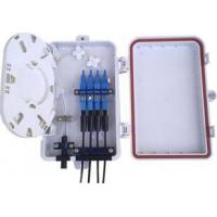 Buy cheap Small Fiber Optic Termination Box 4 Simplex SC Or Duplex LC Easy Installation from wholesalers