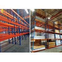 China Automated Warehouse Pallet Shelving Systems / Commercial Pallet Rack Storage Shelves on sale