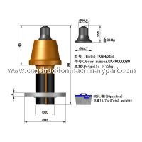 Planing / Milling Concrete Road Milling Teeth 20Mm Shank Diameter Manufactures