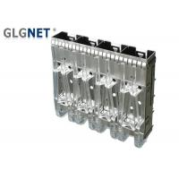 Buy cheap Stampled Formed Metal Sfp+ Cage Right Angle With Heat Dissipation Hole from wholesalers