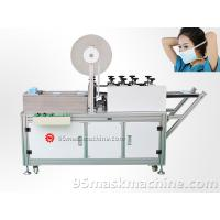 Quality tie on mask machine manufacturer, non woven mask machinery supplier for sale